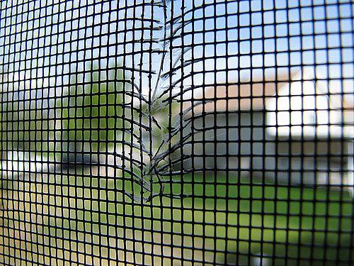 Superior windows doors aluminum door screen co for Window screen