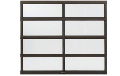 Amarr Vista Glass Garage Doors Aluminum Door Screen Co