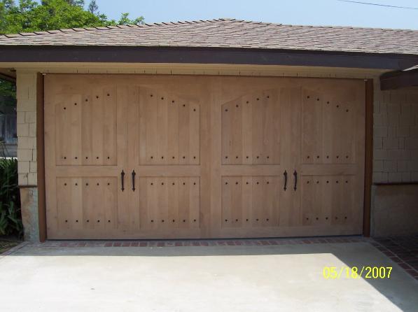 Custom Wood Garage Doors Aluminum Door Screen Co